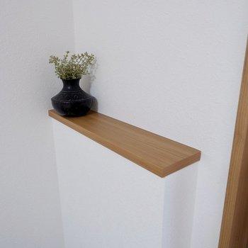 ここには植物を飾ったりして※家具はサンプルです