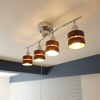 リビングや洋室にはこんなオシャレなライトが使われています!