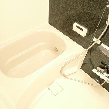 バスルームは綺麗です。