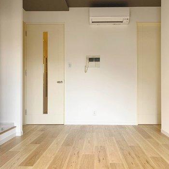 床のフロアタイルも、お好きな色をお選び頂けますよ!※写真はイメージです