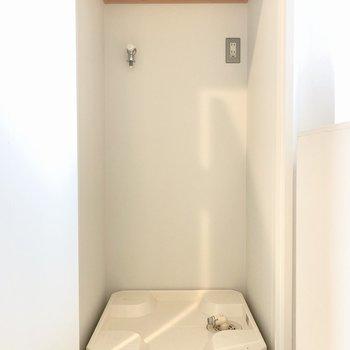 洗濯機は扉で隠すことができます。※写真は前回募集時のものです