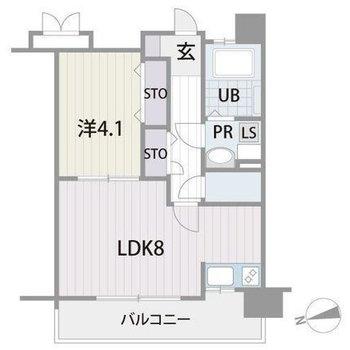 洋室は寝室ですかね。