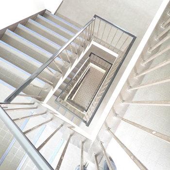 古風な階段です。