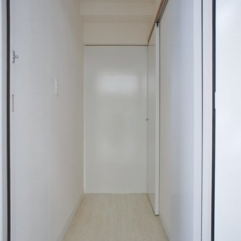 スマートな玄関♪
