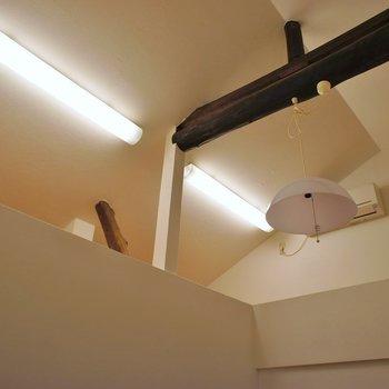 このお部屋ロフトが付いてます