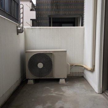 洗濯物を干すには十分な広さ(※写真は3階の反転間取り別部屋のものです)