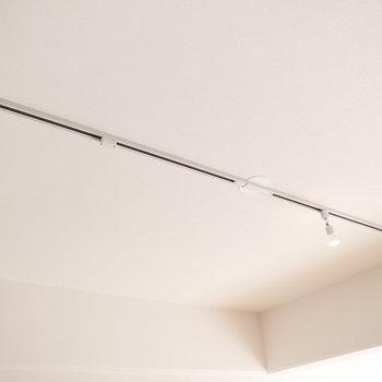 LDK】ダクトレールもあります。お好みのライトでお部屋を照らして*