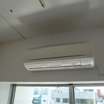 エアコンも ※写真は反転間取りの501号室のものとなります。