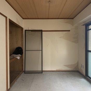 【工事前】5畳側のお部屋です。