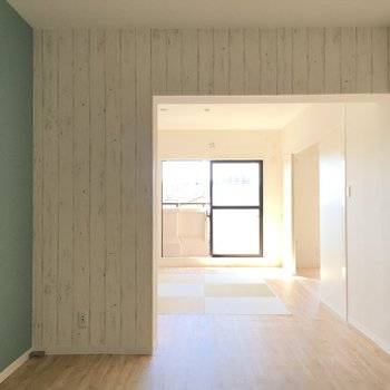 【DK】程よく壁で仕切られた空間。