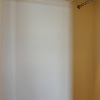 【6帖】収納は、ウォークインクローゼットです。※写真は8階の同間取り別部屋のものです
