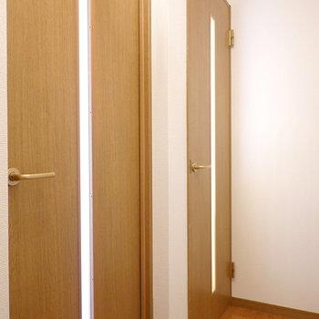 上には2部屋あります。まずは奥の部屋から。