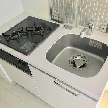 調理スペースがないので、作業台があると便利ですね。※写真は前回募集時のものです