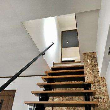 そんな階段を登って、上に行ってみましょう〜!