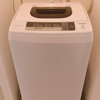 洗濯機は設置済みです。