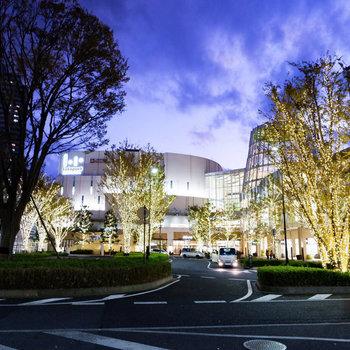 駅前は大型の商業施設があるので、お買い物に便利ですよ。