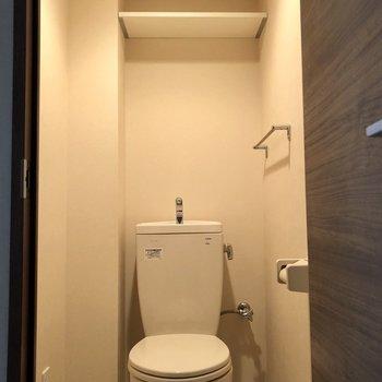 トイレはシンプルに※写真は前回募集時のもの