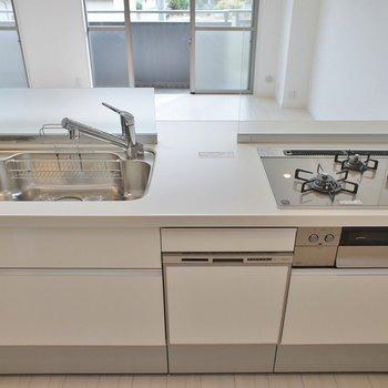 3口の食洗機付き※写真は同タイプの別室。