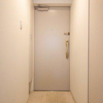広さのある玄関。