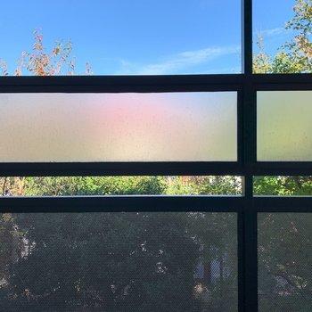洋室からの眺望は共用部です