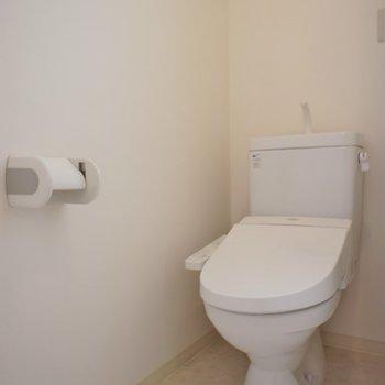 横におトイレ