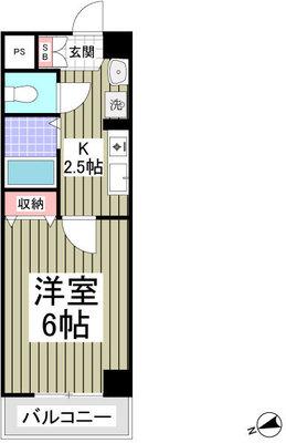 シャトール田口金沢八景 の間取り