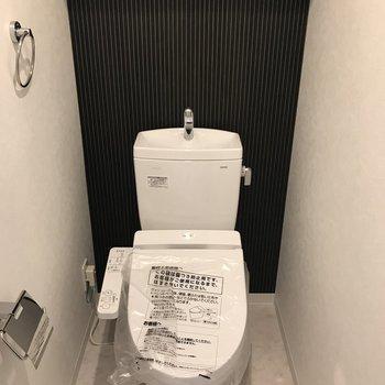 トイレもしっかりウォシュレット付き!
