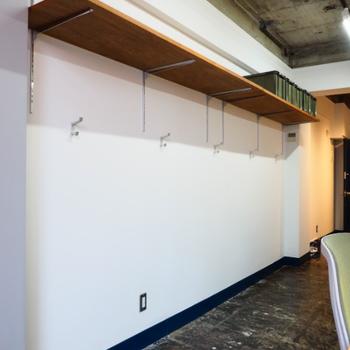 スペースを有効活用した棚