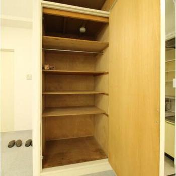 収納スペースはありがたい!