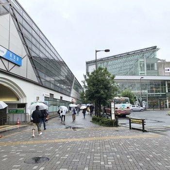 駅前には大きな商業施設があるので、お買い物を済ませてから帰宅してもいいですね。