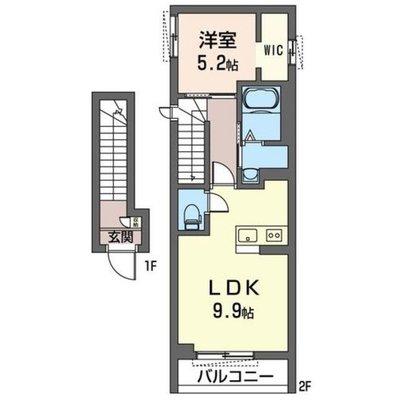 仮)大田区西蒲田6丁目シャーメゾン の間取り