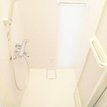シャワーだけでした。鏡はお気に入りのものをご用意ください。