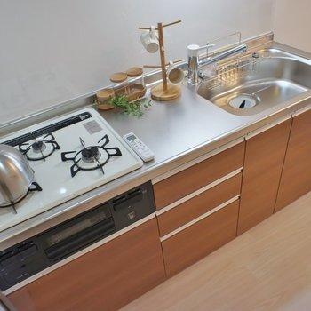 調理スペースもしっかりと!※写真は同タイプ3階のもの