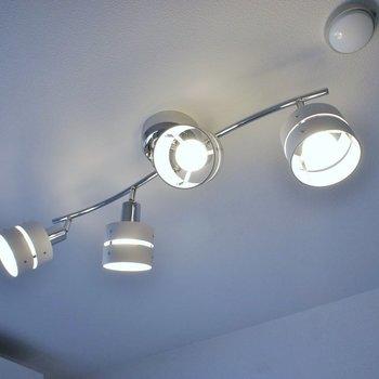 お気に入りの照明を取り付けてください!!※写真は同タイプ3階のもの