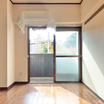 コンパクト空間なので、家具はミニタイプで揃えると◎