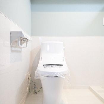 トイレも同じ空間に。ゆとりはありますよ。