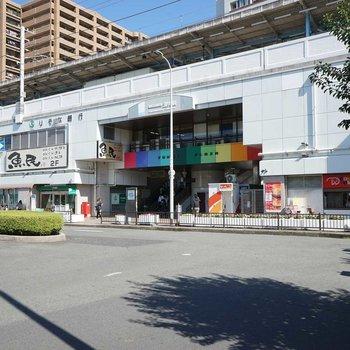 こちらは深井駅。駅ビルにはたくさん飲食店も入っていて、賑やかな印象でした。