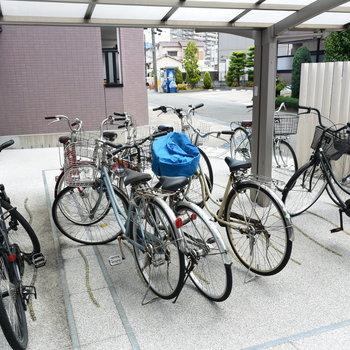 自転車は学生の必需品ですからね