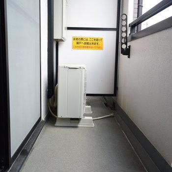 十分な広さのあるバルコニー(※写真は2階の反転間取り別部屋のものです)