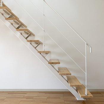 さて、お次は上の階へ。