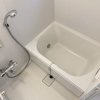 十分な広さのある浴室。