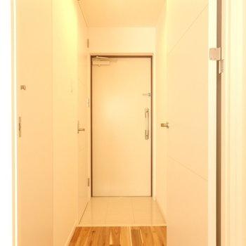 玄関シンプルで好き。(※写真は前回募集時のものです)