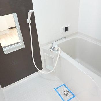 お風呂は追い焚き付き!長湯もどんとこい。