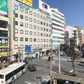 こちらが津田沼駅前の様子。