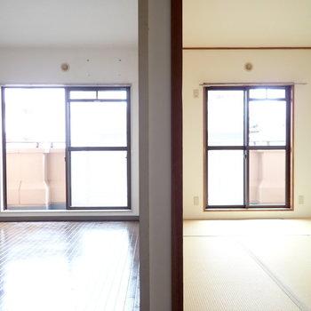 どちらのお部屋がお好みで?