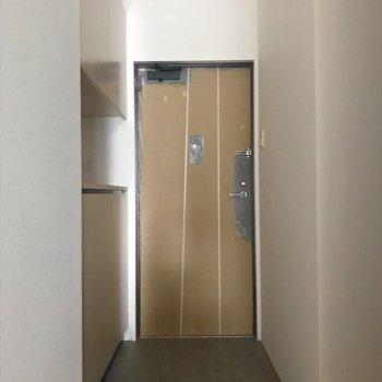 玄関は広々空間!