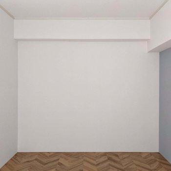 それ以外の壁は白。