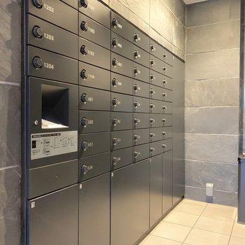 メールボックスと宅配ボックスは一体型になっています。
