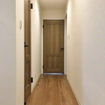 長~い廊下!