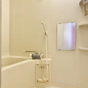 お風呂は洗い場ゆったり